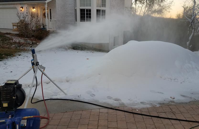 Customer Photos Videos Backyard Snowstorm