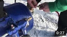 Snowmaking Hose Connection